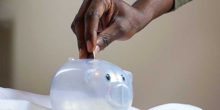 Economize para organizar suas contas